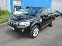 Land Rover Freelander 2 2.2Td4 ( 150bhp ) 4X4 Auto 2014MY XS Black Leather Nav