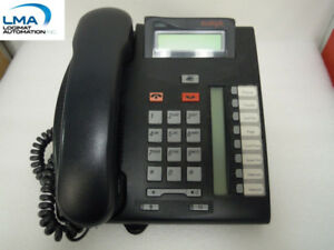 AVAYA NT8B26C BLACK DIGITAL PHONE OFFICE TELEPHONE T7208