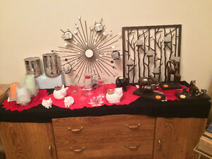Various Retired Partylite  Decor + Candles