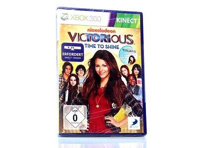 VICTORIOUS - TIME TO SHINE (Kinect) > NEU < (Microsoft Xbox 360 Spiel)