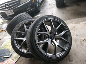 18 Inch 5x114 Rims with Tires