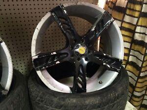 """2x mags / roues / jantes 18"""" 4-100 4-114 honda Hyundai  Saint-Hyacinthe Québec image 2"""