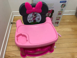 Chaise enfant Minnie Mouse Booster seat