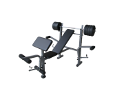 Weight Bench and 35KG Bar Weight Set Package 002Blu Malaga Swan Area Preview
