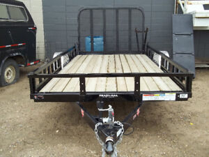"12' x 77"" SINGLE AXLE UTILITY PJ TRAILER"
