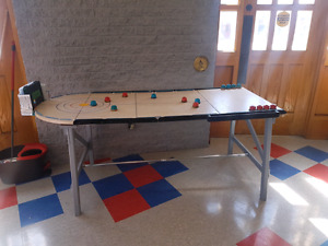Curling game table