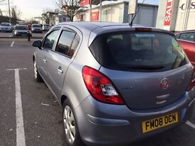 Automatic 5 doors coras 2008 only 19000 miles