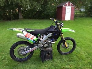 2012 KX 250F fuel injected
