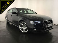 2013 AUDI A4 S LINE TDI DIESEL 1 OWNER FROM NEW SERVICE HISTORY FINANCE PX