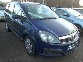 2006 Vauxhal Zafira Life 1.9CDTI 120 E4 Diesel 102K In Blue Excellent Example