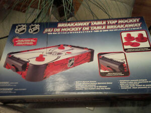 NHL table top air hockey