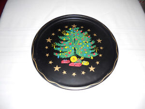 Vintage Tin Christmas Cookie Tray Kitchener / Waterloo Kitchener Area image 1