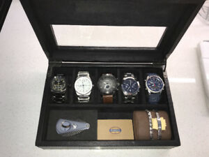 Watch Collection $1600 Value! + Extras