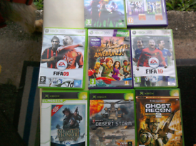 Lot of Xbox and Xbox 360 games