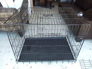 large metal dog crate in great cond, have 3 cages