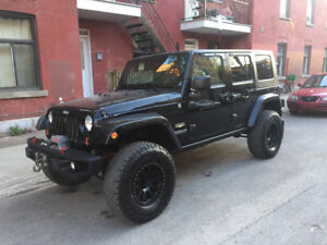 JEEP Sahara JKU 2007 - beaucoup de mods