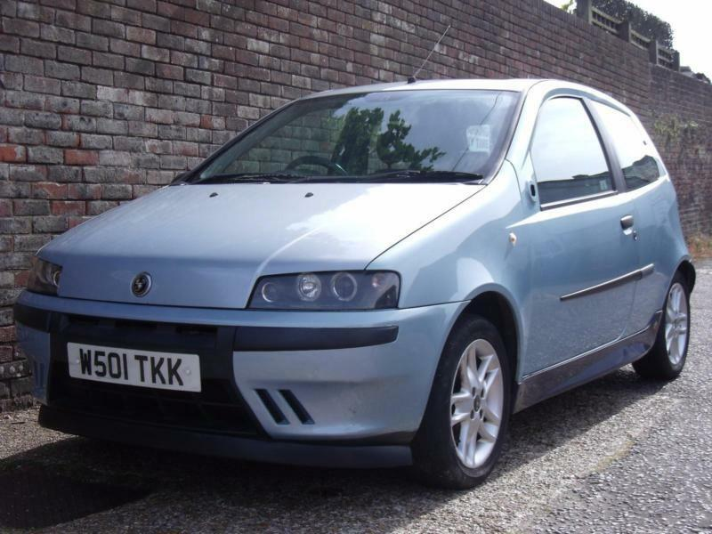 fiat punto 1 2 16v sporting 2000 w  3 door hatchback