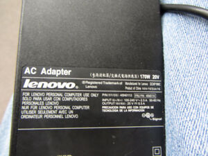 lenovo laptop charger 20v...8.5A...still working great