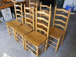 Pine Shaker table and chairs Kitchener / Waterloo Kitchener Area image 5