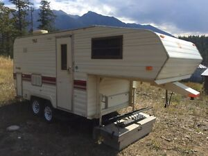 1986 prowler bunk model 18' fifth wheel