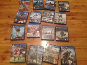 Jeux PS4 pas cher / Cheap Playstation 4 games