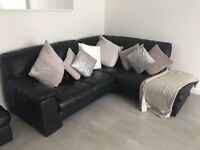 DFS corner sofa and 3 seater sofa