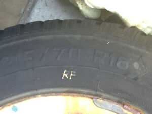 215 70 16 Subaru outback winter tires and rims