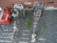 1972 BOAT MOTORS AND CAN