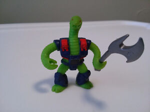 Battle Beasts Laser Beasts Triple Threat Snake Hasbro 1986