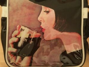 Purse Patent Leather Guiness Beer Sac Cuir Verni Bière Guinness
