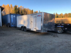 PACE 20' ENCLOSED TRAILER