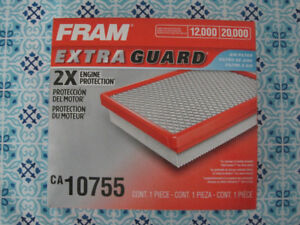 Toyota engine and cabin air filters