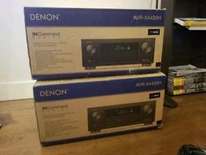 Denon Amp AVR-X4400H 4K Dolby Atmos HEOS AV Receiver