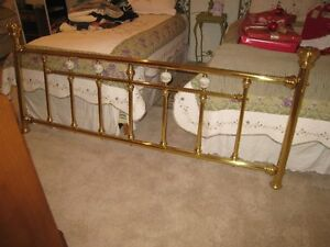 King Size Bed Brass Frame