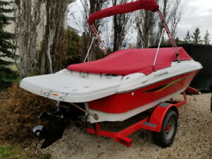 2011 Four Winns H180, Merc 4.3, bimini, swim platform, covers..