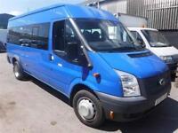 FORD TRANSIT 430 SHR BUS 17 STR, Blue, Manual, Diesel, 2013