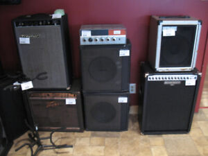 Acoustic guitar amp and keyboard amps for sale