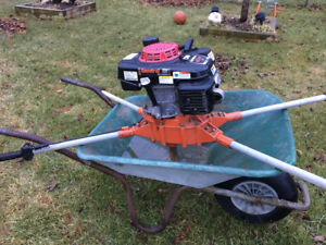 Two man auger/post hole digger/earth drill w/bit and extension