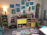 Spots Available Now in Reggio-Inspired Day Home