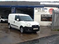 2011 1 owner fiat doblo 1.3 jtd 54,000 full service history spares & repairs starts & drives