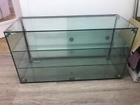 Glass display cabinet for cakes / sandwiches café / restaurant