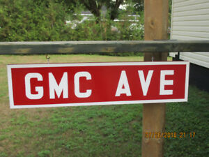 GMC AVE SIGN.