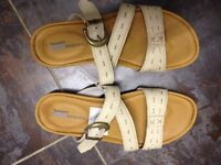 Timberland ladies sandals, size 4.5