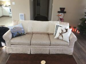 White/cream couch