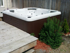 5 Adult fully funtional Mermaid hot tub with lid and chemicals