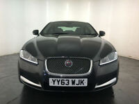 2013 63 JAGUAR XF LUXURY DIESEL AUTOMATIC 1 OWNER FROM NEW FINANCE PX