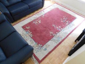 tapis en laine 6 X 9