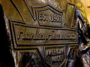 Genuine 1990 Harley-Davidson Leather Jacket: Mint