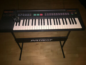Yamaha P5R-8 Keyboard with stand and bench. Older but good shape Prince George British Columbia image 1