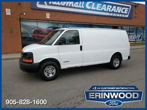 2006 Chevrolet Express 2500 / AIR CONDITION / SHELVES / LOW KM'S